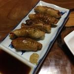 五味鳥 - 鶏皮ギョーザ(500円)