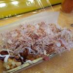 大阪で1番おいしいたこやきくん - たこ焼(7個)(280円) たこ焼は一種類のみです
