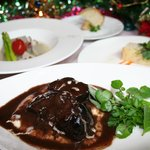 カフェ サルーテ - 料理写真:サルーテのクリスマスディナー¥4800(12/23・24・25・26)ご予約受付中!