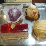 パティスリー ムッシュ エム - 購入したケーキ