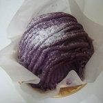 パティスリー ムッシュ エム - 紫芋のモンブラン