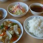 中華食堂 チャオチャオ - 料理写真:酢豚・からあげ定食