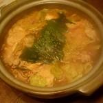 庵狐 - 豚のピリ辛チゲ:1,800円