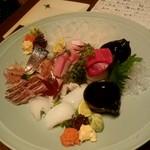 庵狐 - 地魚5点盛り:2,900円