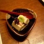 庵狐 - かに味噌とうふ:800円