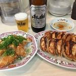 餃子の王将 - ポンカラ&よく焼き餃子