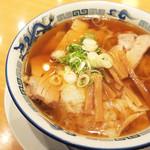 柳の下 末弘軒 - ワンタン麺全景 (^_^)b