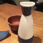 農業高校レストラン - 県農と岡田本家コラボの純米吟醸 盛典