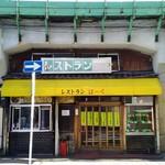 レストランばーく - 店舗外観 JR鶴見線の高架下。絵になるねぇ。