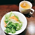 59894465 - サラダとスープ