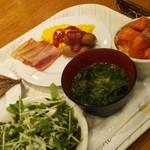 Hoterusambareizunagaoka - 朝食バイキングの方がシンプルイズベストなメニュー構成です。