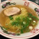 金久右衛門 - あっさりの金醤油ラーメン(細麺)  670円