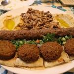 アリーズ キッチン - Arabic combo plate    2,000円