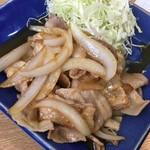 59899415 - 生姜焼き定食 750円税込