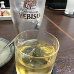 吟 - 南高梅の梅酒をロックでいただきました(^^)v