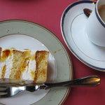 カンパーニャ - デザート:オレンジのスポンジケーキ