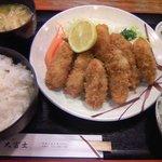 5990370 - 牡蠣フライ定食