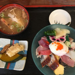 富士寿司 - 海鮮丼