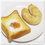 ルパ - エッグトースト / 塩パン