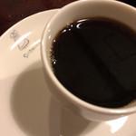 西洋菓子しろたえ - 濃いめのコーヒー