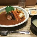59902798 - 玄米野菜カレー  880円♪