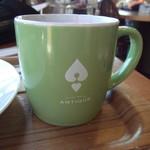 ハートブレッド アンティーク - コーヒーカップ