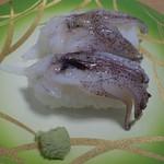 魚々楽寿し - 生げそ200円