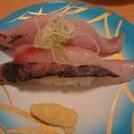 魚々楽寿し - アジ300円