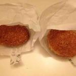 小麦と酵母 満 - カレードーナツ、味玉パン