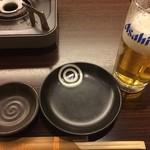 居酒屋 NIJYU-MARU - 乾杯。ジョキは冷やされてなかった(*´Д`*)