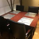 銀座 こころん - 右側テーブル