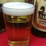 新珍味 - 瓶ビール(500円)