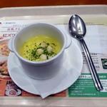 イタリアン・トマトカフェジュニア - コーンスープ380円