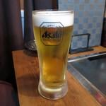 やきやき鉄板 ぼんくら家 - 生ビール