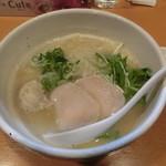 らーめん銀杏 - 鶏soba塩750円