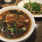 上海バール - 五目とろみ麺(990円)