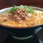 丸亀製麺 - 肉たまあんかけうどん 590円