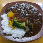 59913217 - ソーセージ+焼き野菜カレー