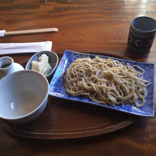 土合やぶ - 辛味おろしそば。 税抜1100円。 美味し。