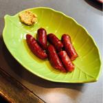 キッチン真味屋 - 鹿のウインナー&チョリソー、猪のウインナー