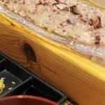 生け簀の銀次 - 烏賊と蛸のタタキ定食