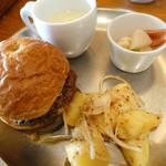 ルボワ - 鳥取和牛のハンバーガー