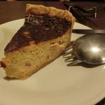 Bistro des Chenapans - 玉葱とベーコンのキッシュ