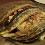 59918774 - サンマの軽いスモーク 野菜のマセドワ