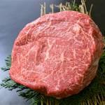 阿波黒牛のマルシンステーキ