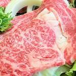 阿波黒牛のリブロースステーキ