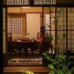 大傳月軒 - お庭の見える個室