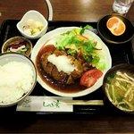 しゃぶ玄 - しゃぶ玄 @西葛西 和風ハンバーグ定食 840円