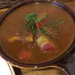 カレー クローバー - 季節の野菜カレー