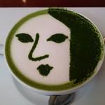 よーじやカフェ - よーじや特製抹茶カプチーノ